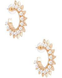 8 Other Reasons Shine Bright Hoops - Metallic