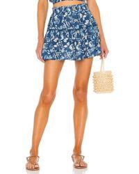 Eberjey Nellie Skirt - Blue