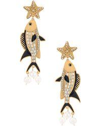 Mercedes Salazar Isla Earring - Metallic