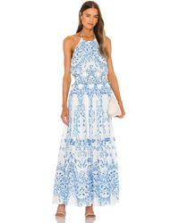 BCBGMAXAZRIA ドレス - ブルー