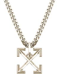Off-White c/o Virgil Abloh Arrow Necklace - Mettallic