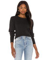 Bobi Black Fine Cotton Sweater