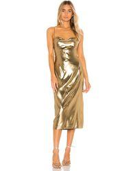 Nbd Mina ドレス - メタリック