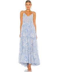 MISA Los Angles Kalita ドレス - ブルー