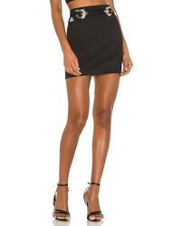 superdown Kodie Buckle Skirt - Black
