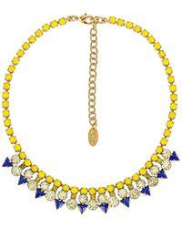 Elizabeth Cole Ожерелье Shalia В Цвете Солнечно-желтый - Многоцветный