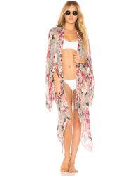 Michael Stars - Dreaming In Florals Kimono - Lyst