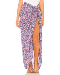 Tiare Hawaii - Sarong In Pink. - Lyst