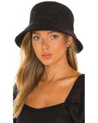 Lack of Color Шляпа Inca В Цвете Noir - Черный