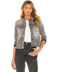L'Agence Janelle Slim Jacket - Grau