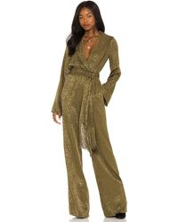 House of Harlow 1960 X Revolve Rossi Jumpsuit - Green