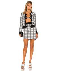 Saylor Bethanie Top & Skirt Set - Black