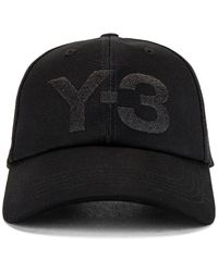 Y-3 キャップ - ブラック