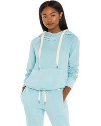 NSF Lisse Raglan Pullover Hoodie - Blau