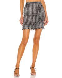 House of Harlow 1960 Minifalda blair - Negro