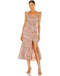 Cleobella Sophia Midi Dress - Mehrfarbig