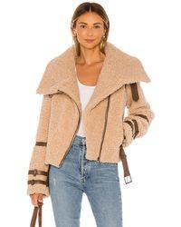 Tularosa Куртка Bailey В Цвете Верблюд - Многоцветный
