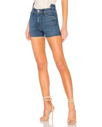 Mother - The Dazzler Shift Fray Short - Lyst