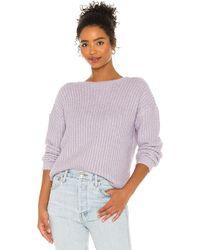 BB Dakota Knit's A Look セーター - パープル