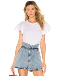 A.L.C. Carrie top - Blanco