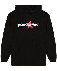Pleasures Vibration パーカー - ブラック