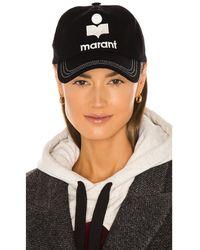 Isabel Marant Tyron ハット - ブラック