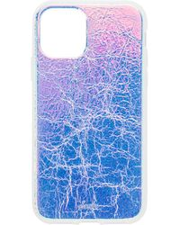 Sonix Holographic Leather 11 Pro Case - Blau