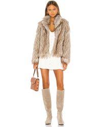 Unreal Fur Fur Delish フェイクファージャケット - マルチカラー