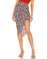 Veronica Beard Hazel Skirt - Purple
