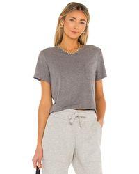 Richer Poorer Boxy Tシャツ - グレー