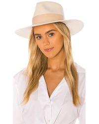 Janessa Leone Carter Hat - Weiß