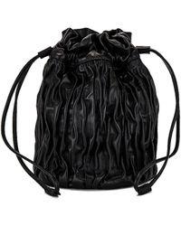 Ganni バケットバッグ - ブラック