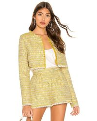 Lovers + Friends Analee Jacket - Yellow