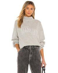 AllSaints Nevarra スウェットシャツ - グレー