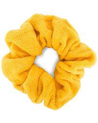 DONNI. Terry Chiquita Scrunchie В Цвете Манго - Yellow. Размер All. - Желтый