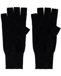 Autumn Cashmere Fingerless Gloves - Schwarz