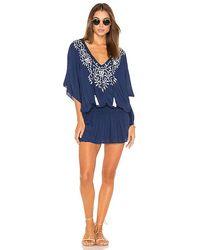 Tiare Hawaii Margarita Dress - Blue