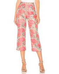 For Love & Lemons Pantalon Jackpot - Rose