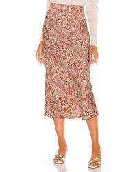Free People Normani Bias Skirt - Pink