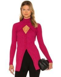 Ronny Kobo Garner knit top - Multicolor