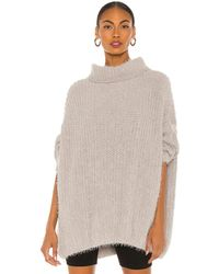 Free People Oasis Tunic Pullover - Multicolour