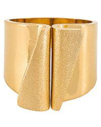 Soko Feni Statement Ring - Metallic
