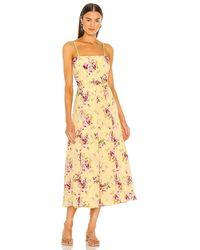 Likely Zeldra Dress - Yellow