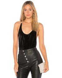 Motel - Fern Diamond Bodysuit - Lyst