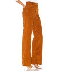 Levi's Широкие Брюки Ribcage В Цвете Карамельный Кафе - Burnt Orange. Размер 24 (также В 25). - Многоцветный
