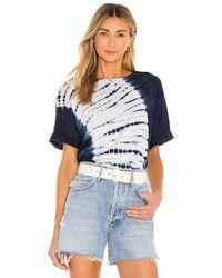 Raquel Allegra Mens Tシャツ - ブルー