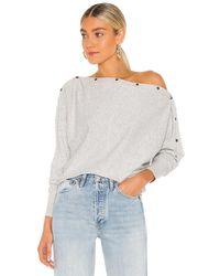AllSaints Ellie Sweater - Grau