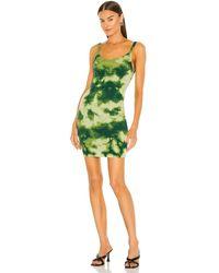 Cotton Citizen The Verona Tank Dress - Green