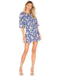 Tularosa Lottie Dress - Blau