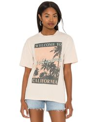 Daydreamer Welcome To Hollywood Tシャツ - ナチュラル